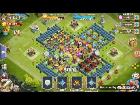 Castle Clash Where I Will Put 5/8 Self Destruct!!