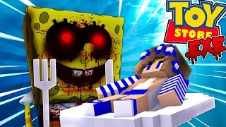 - SPONGEBOB .EXE EATS THE LITTLE CARLY DOLL w Little Carly and Little Kelly Minecraft