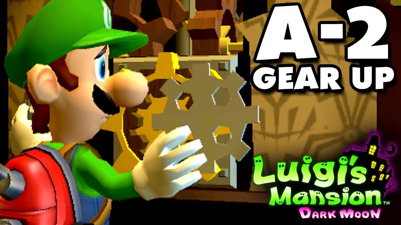 Luigi's Mansion Dark Moon - Gloomy Manor - A-2 Gear Up (Nintendo 3DS Gameplay Walkthrough)