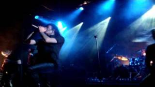 Trail Of Tears - Once Kissed By The Serpent Live In Athens,Greece @ Gagarin 205 11/22/09
