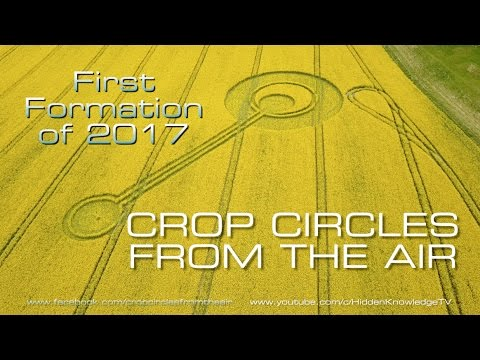 First Crop Circle of 2017! Exclusive Aerial Footage - Cherhill, Wiltshire