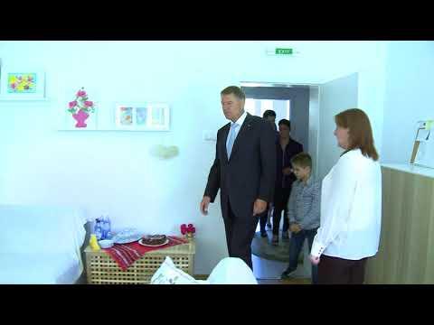 STIRIPESURSE.RO Presedintele Klaus Iohannis la Evenimentul SOS Satele Copiilor