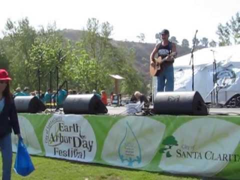 Robert Matter Performs at the Earth Arbor Day Festival in Santa Clarita on April, 13  2013