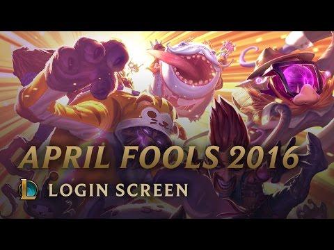 April Fools 2016   Login Screen - League of Legends