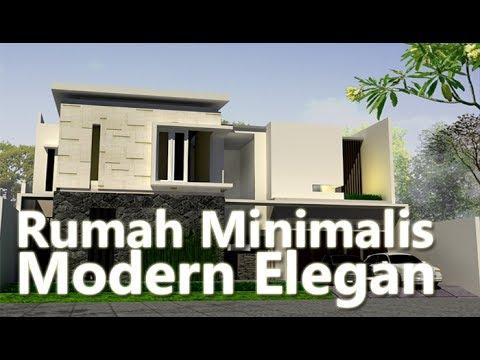 90 Gambar Desain Rumah Minimalis Nan Asri Paling Keren Unduh