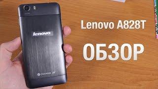 Lenovo a828t 3G Обзор