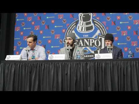 BU Hockey - Coach Quinn Postgame (2/5/18 vs Harvard, Beanpot Semifinal)
