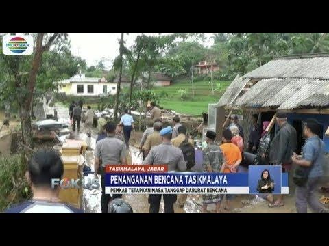 Banjir di Tasikmalaya Mulai Surut, Warga Masih Bertahan di Pengungsian - Fokus Mp3