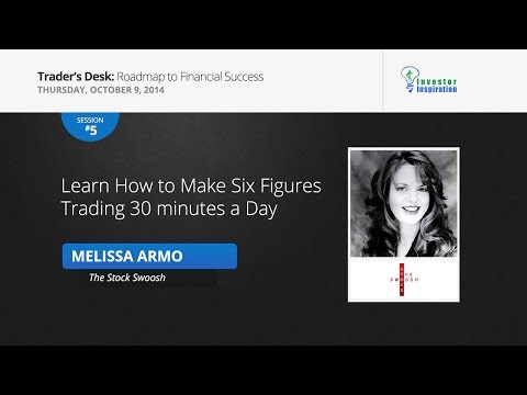 Learn How to Make Six Figures Trading 30 minutes a Day | Melissa Armo