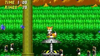 Sonic The Hedgehog 2 (Genesis) - Tails Longplay