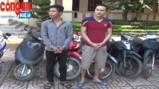 Bắt nhóm thanh niên 9x trộm xe máy