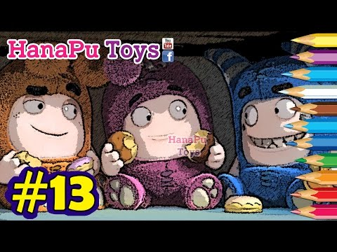 Oddbods Cartoon Funny Coloring Learning - Learn Colors Compilation For Kids #13