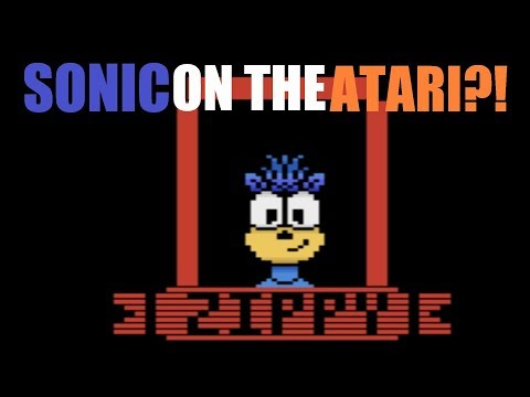 Sonic on the Atari?! - Zippy the Porcupine Review - Best Fan Games 2017