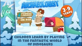 ICE AGE ARCHEOLOGIST GAME   LEARNING THE ABC