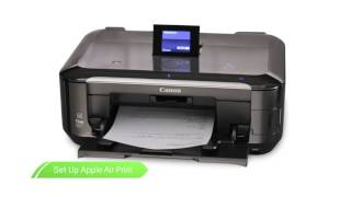 Canon Get Started -- Print directly to your PIXMA printer via Airprint and Easy Photo Print