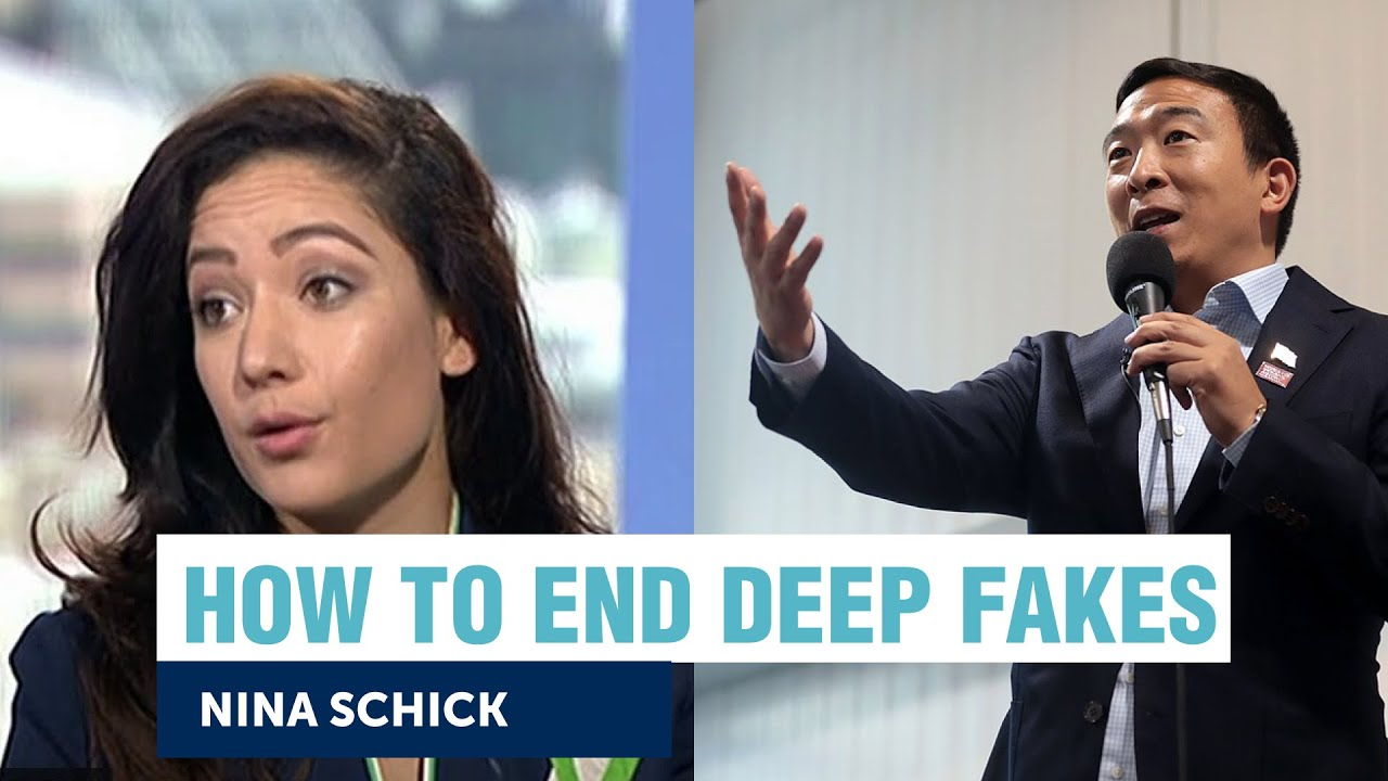 Is it too late to put an end to deep fakes? | Nina Schick + Andrew Yang | Yang Speaks