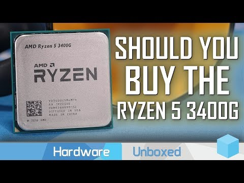 Ryzen 5 3400G Review, AMD's New $150 Flagship APU