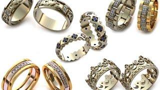 Модные обручальные кольца \ Fashionable wedding rings(Выбор обручального кольца на свадьбу - дело ответственное! В моде кольца с гравировкой, винтажные обручальн..., 2014-08-15T11:48:24.000Z)