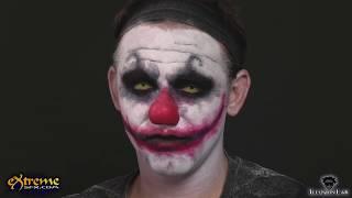 Clown Makeup How-to, Diabolical Clown Halloween Makeup Tutorial
