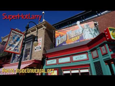 Universal Studios Hollywood - New York Street Facade