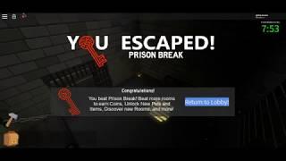 Prison Break Solution - Roblox