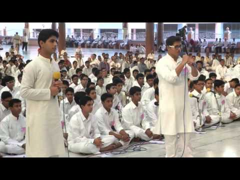 Gratitude Program by the outgoing students of Sri Sathya Sai Higher Secondary School - 18 Feb 2016