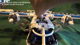 Lego Technic 42025 Cargo Frachtflugzeug... Funktionstest
