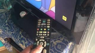Hard reset tv lg color
