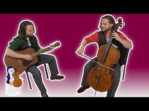 WINTER WONDERLAND Cello Guitar Duet