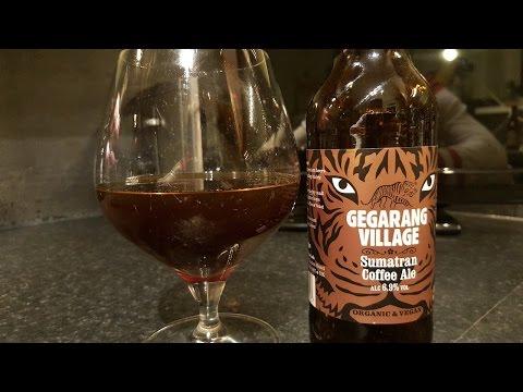 (4K) Stroud Brewery Gegarang Village Sumatran Coffee Ale | Craft Beer Review