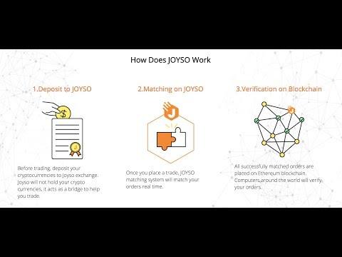 How does JOYSO exchange work?