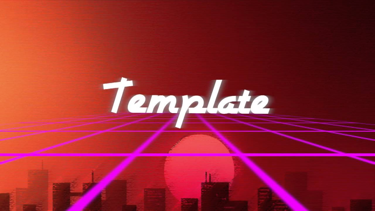 free vaporwave template blender only 60 fps 1080p youtube