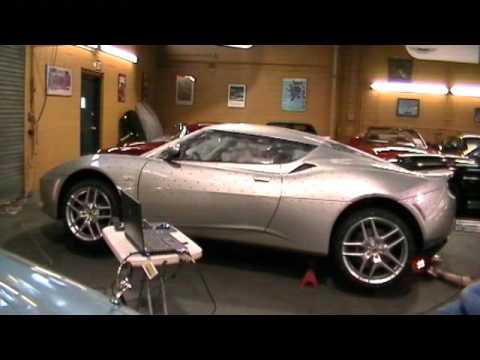 Lotus Evora 3D Laser Car Scan