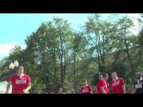 Презентация сборной России по баскетболу