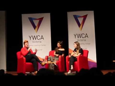 Tina Talks 1: Caitlin Stasey, Brenna Harding, Hosted by Clementine Ford