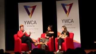 Repeat youtube video Tina Talks 1: Caitlin Stasey, Brenna Harding, Hosted by Clementine Ford
