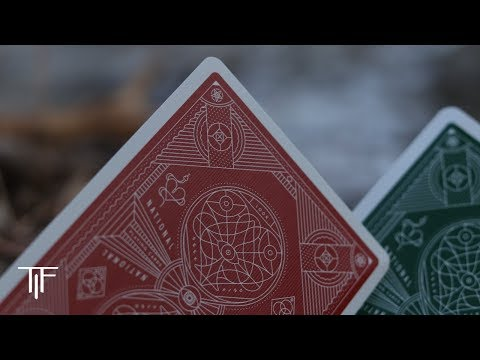Red \u0026 Green National Playing Cards - Deck Review