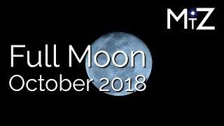 Full Moon October 2018 - True Sidereal Astrology