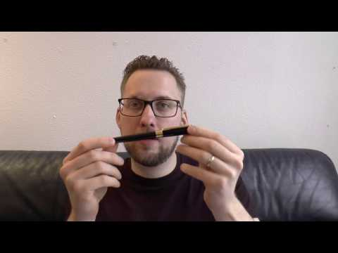 S.T. Dupont Line D Gold and Black Fountain Pen Review
