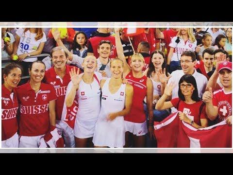 Fed Cup: Schweizer Team lächelt den Abstieg weg