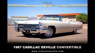FOR SALE: 1967 Cadillac DeVille Convertible - Survivor - 60k Org Miles - Amazing Car - WOW