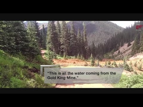 EPA videos show moments after Gold King Mine spill begins