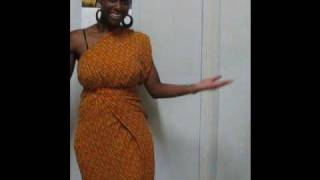 How To Turn A Wrap Skirt Into A Nice Dress- Easy