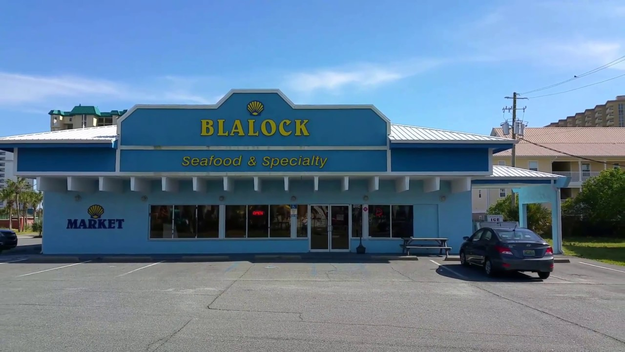 Blalock Seafood Market Destin - YouTube