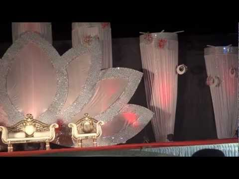 Arab wedding stages designs doovi for Arabic wedding stage decoration