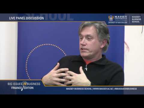 PART 4: BIG ISSUES IN BUSINESS - THE FINANCE EDITION 2016 | Massey University