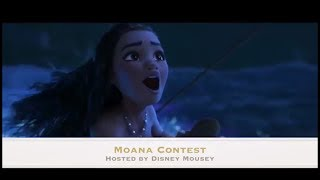 Moana Audition for Disney Mousey