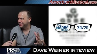 NAMM 2020 | Dave Weiner Interview PRS - American Musical Supply