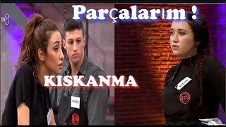 Eslem Hakan ı Kıskandı Zeynep ile Kavga Etti  La Calin Edit / 9. Bölüm Masterchef Türkiye