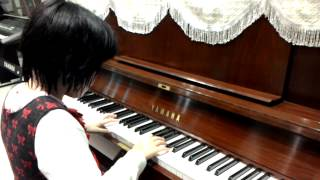 Ước mơ của thiên thần,trích đoạn chuyển soạn cho Piano Hằng Nga 7 tuổi